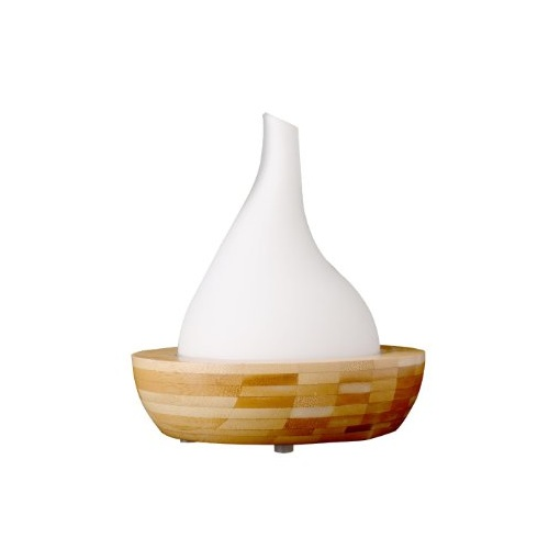 Aryya Aromatherapy Ultrasonic Bamboo Diffuser TEARDROP