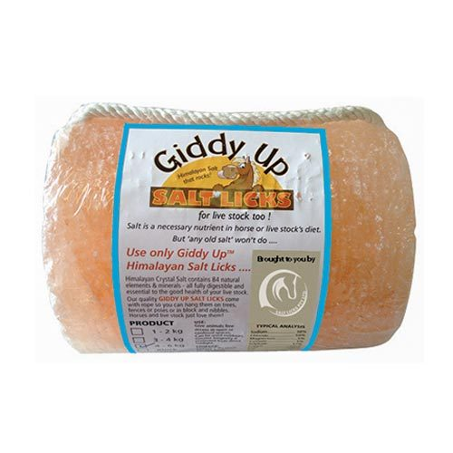 Himalayan Salt Lick 1-2kg with rope