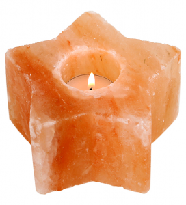 Himalayan Salt STAR Tealight