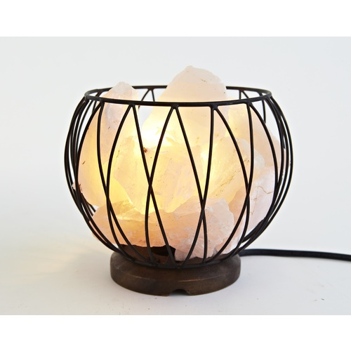 Crystal Cage Lamps